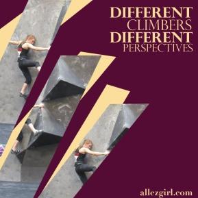 differentclimbers