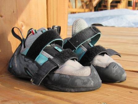 Wet shoes :(